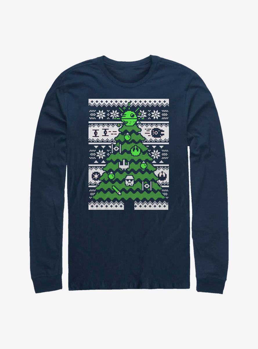 Star Wars Galactic Tree Long-Sleeve T-Shirt