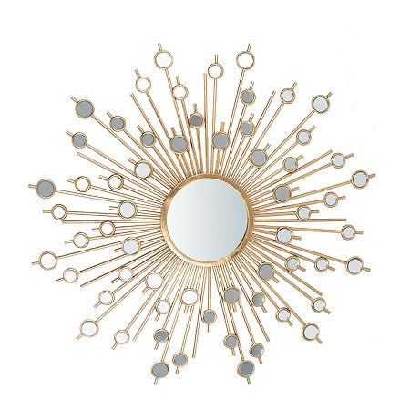 Safavieh Nicolette Gold Wall Mirror, One Size , Yellow