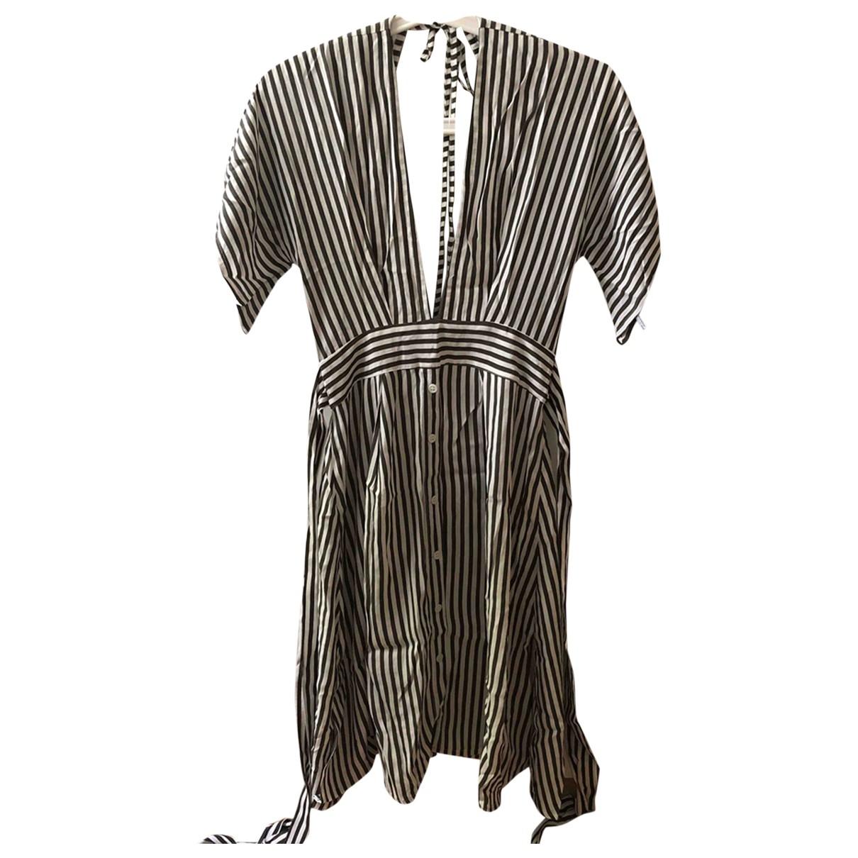 Faithfull The Brand \N Kleid in  Gruen Polyester