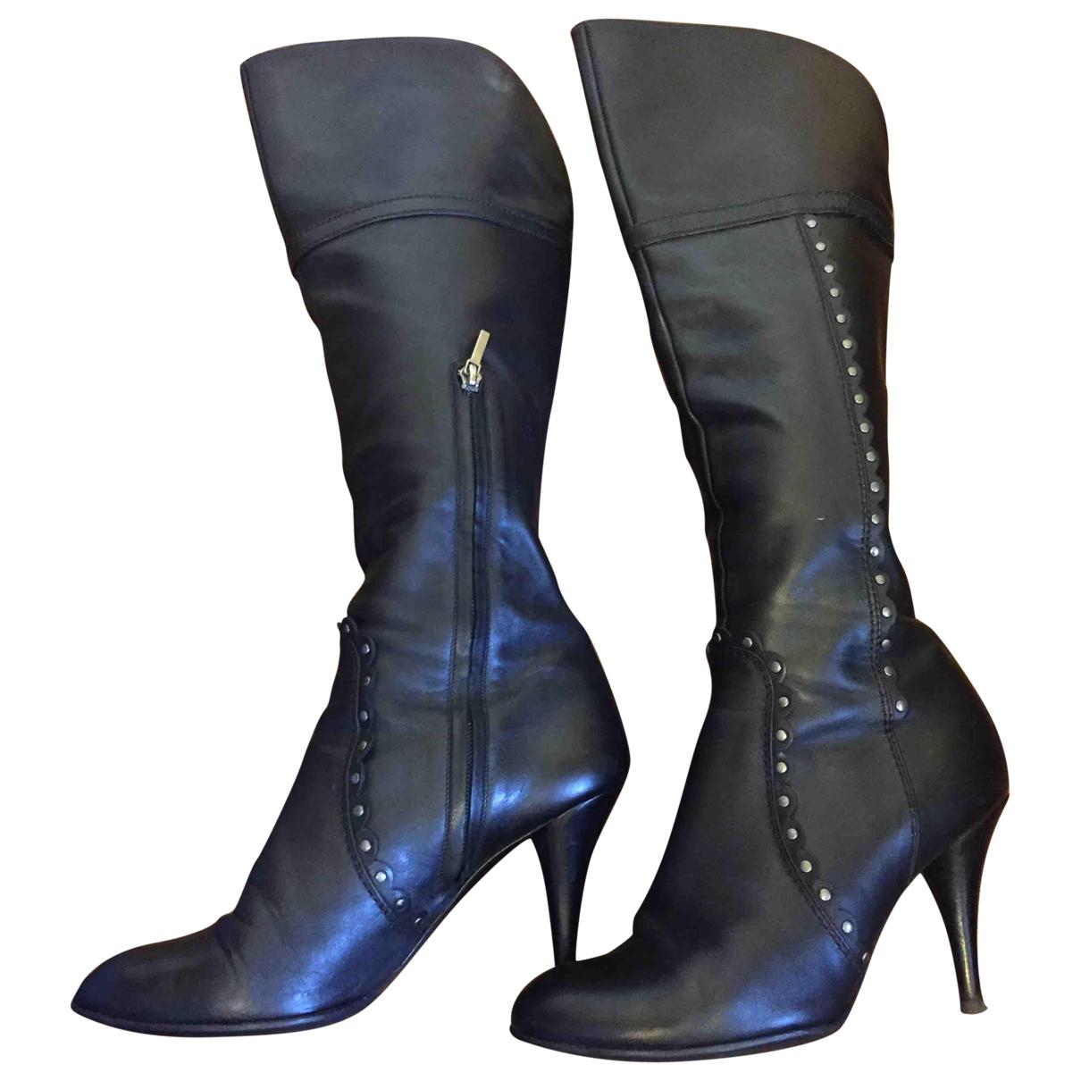 Botas altas de Cuero Dior