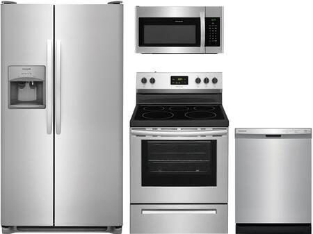 4 Piece Kitchen Appliances Package with FFSS2615TS 36