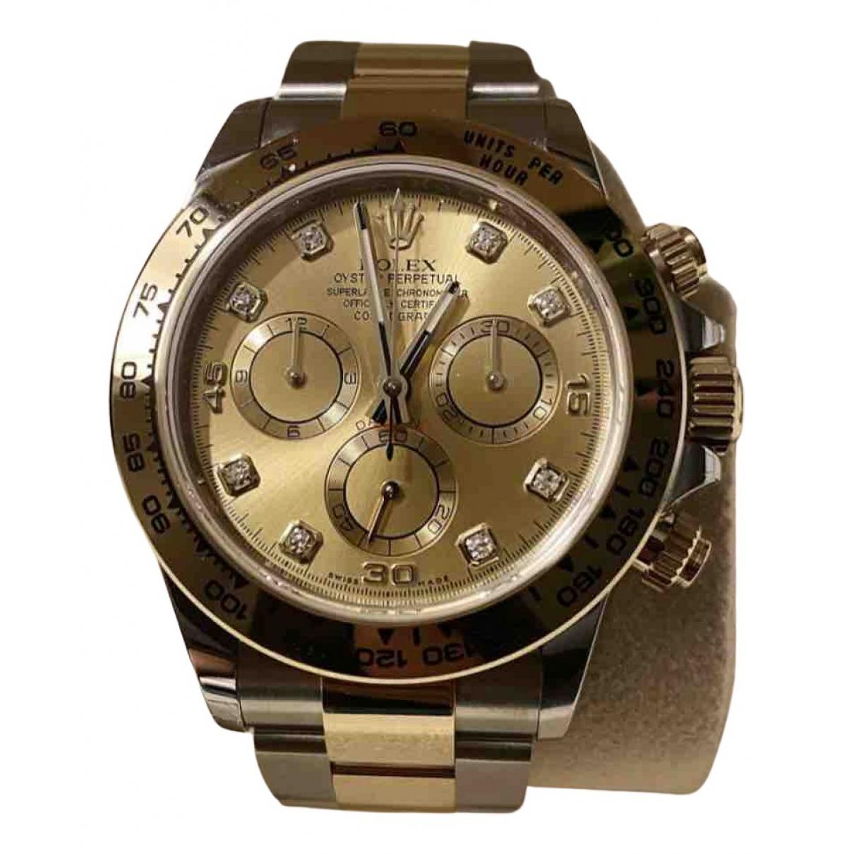 Rolex Daytona Uhr in  Gold Gold und Stahl