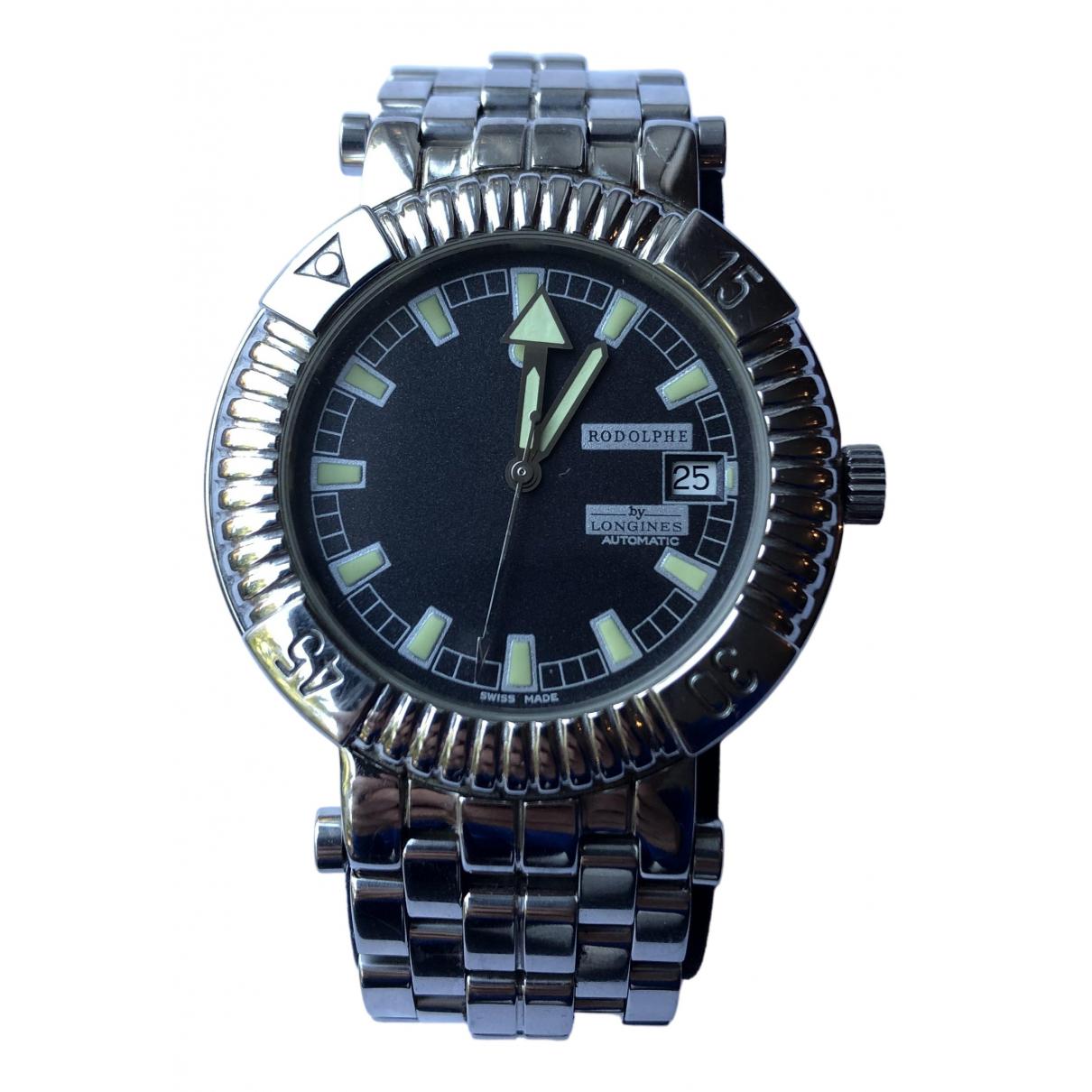 Longines N Silver Steel watch for Men N