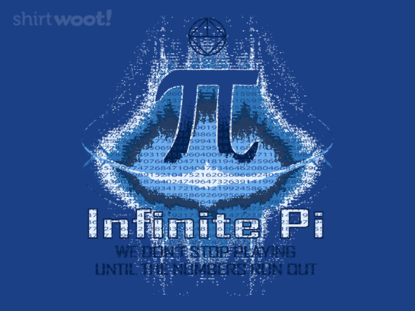 Infinite Pi T Shirt