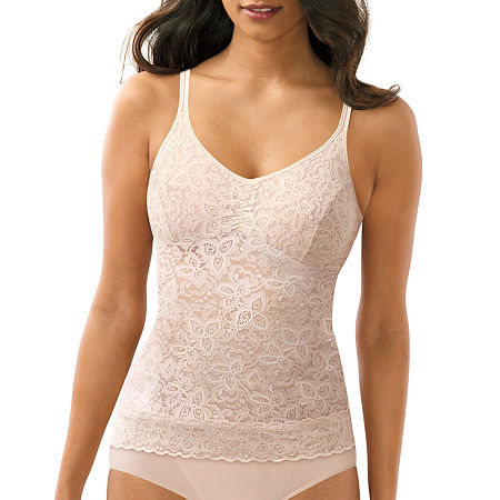 Bali Lace N Smooth Firm Control Shapewear Camisole-8l12, Xx-large , Beige