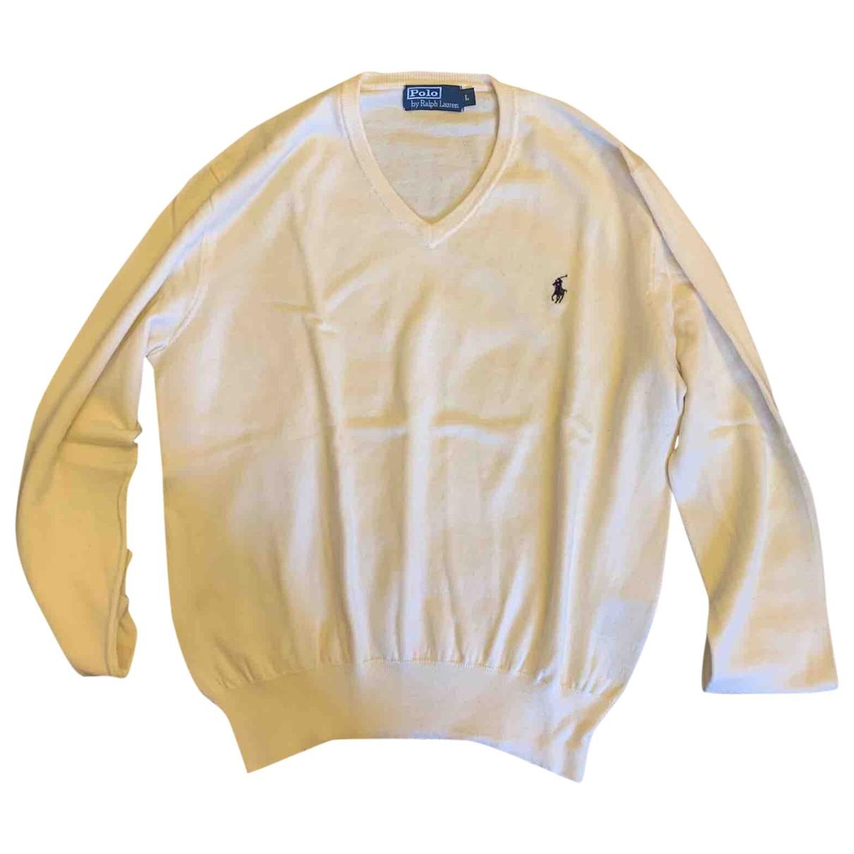 Polo Ralph Lauren - Pulls.Gilets.Sweats   pour homme en laine - blanc