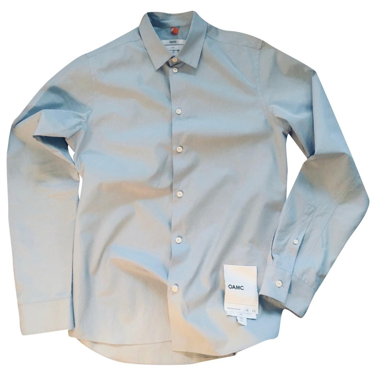 Oamc \N Blue Cotton Shirts for Men S International