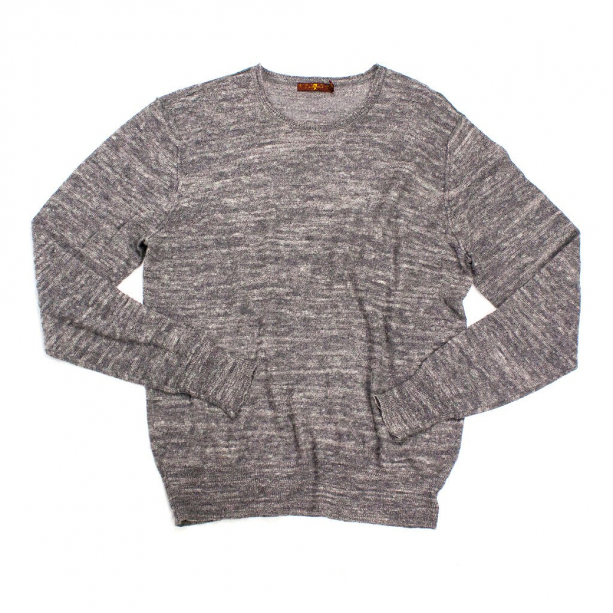 7 For All Mankind \N Pullover.Westen.Sweatshirts  in  Grau Wolle