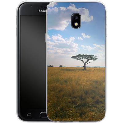 Samsung Galaxy J3 (2017) Silikon Handyhuelle - Tanzanian Savanna von Omid Scheybani