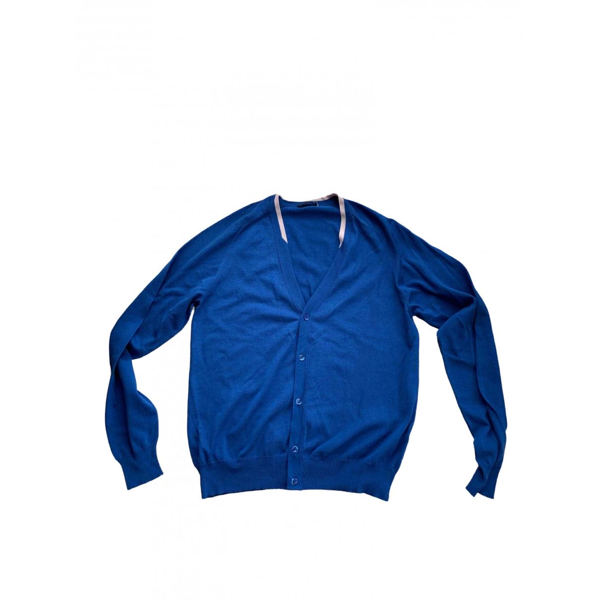 La Perla \N Blue Silk Knitwear & Sweatshirts for Men S International