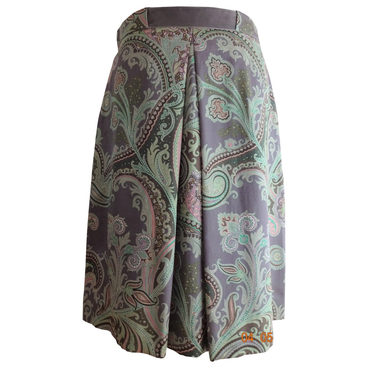 Etro \N Silk skirt for Women 44 IT
