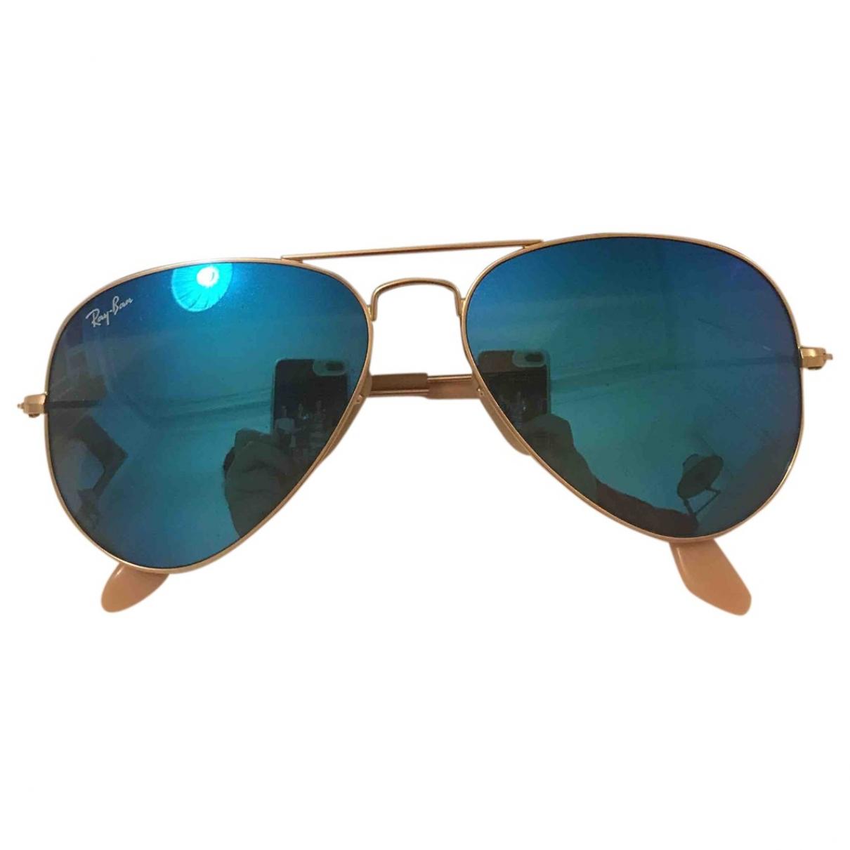 Ray-ban \N Blue Metal Sunglasses for Women \N