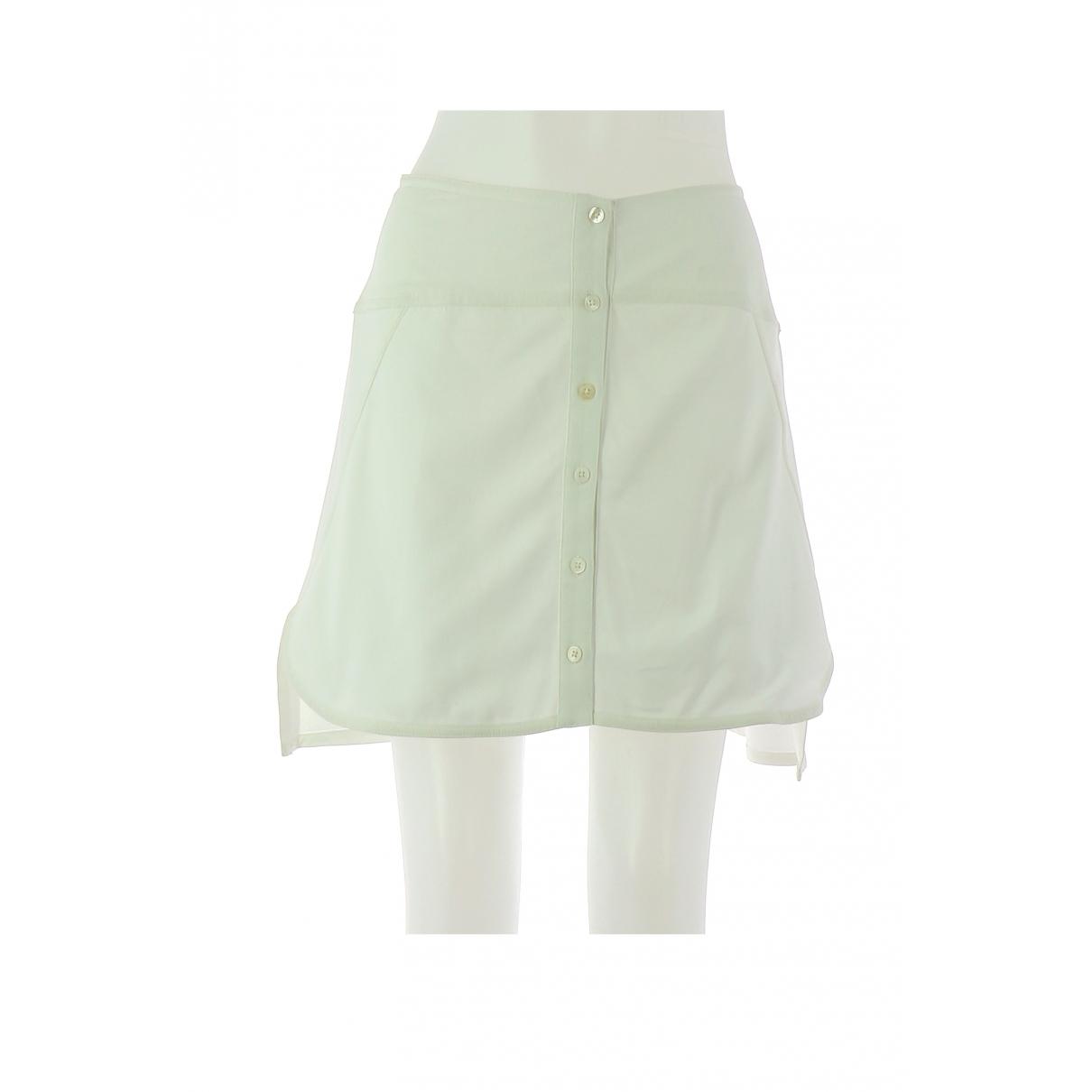 Zadig & Voltaire \N White Cotton skirt for Women 38 FR