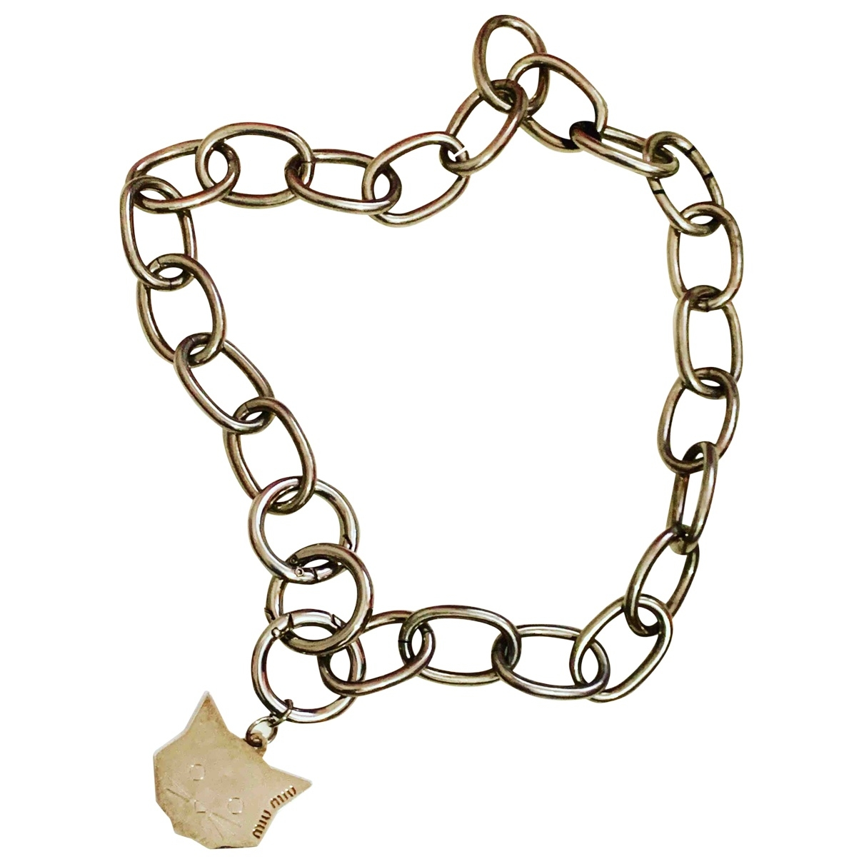 Miu Miu \N Steel necklace for Women \N