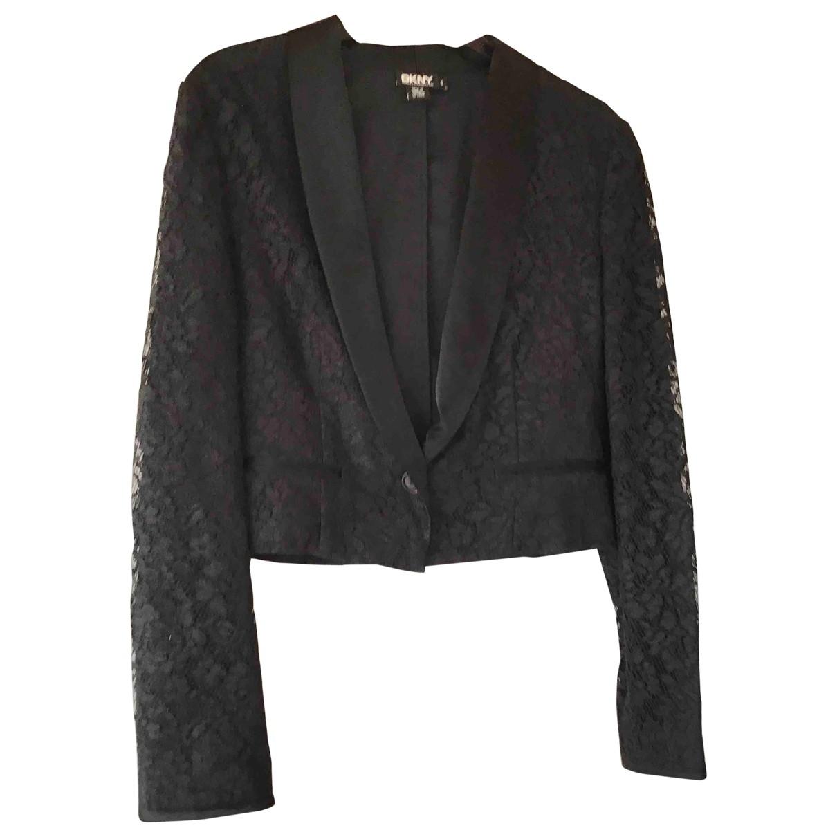 Dkny \N Black jacket for Women 6 US