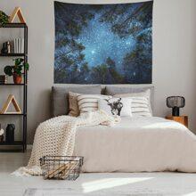 Starry Sky Print Tapestry