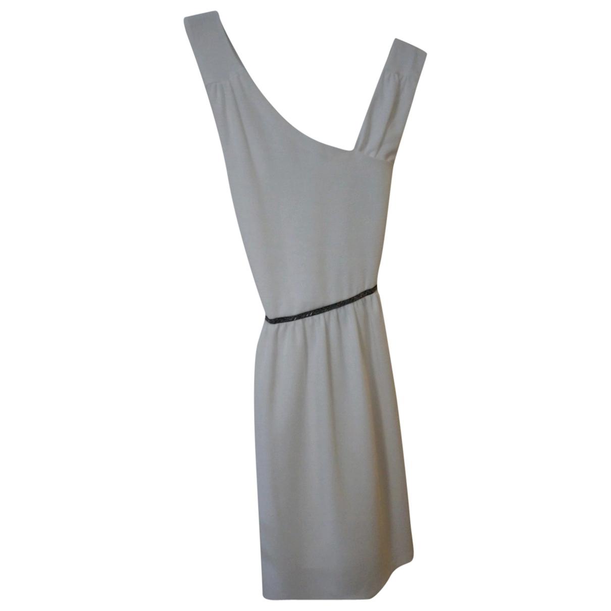 Ikks \N Kleid in  Ecru Polyester