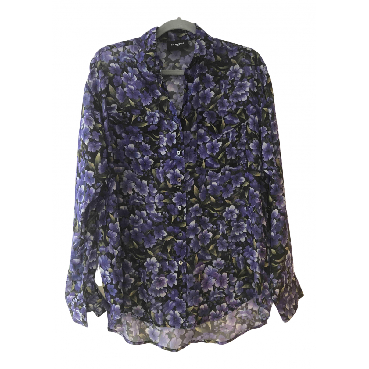The Kooples \N Purple Silk  top for Women 36 FR