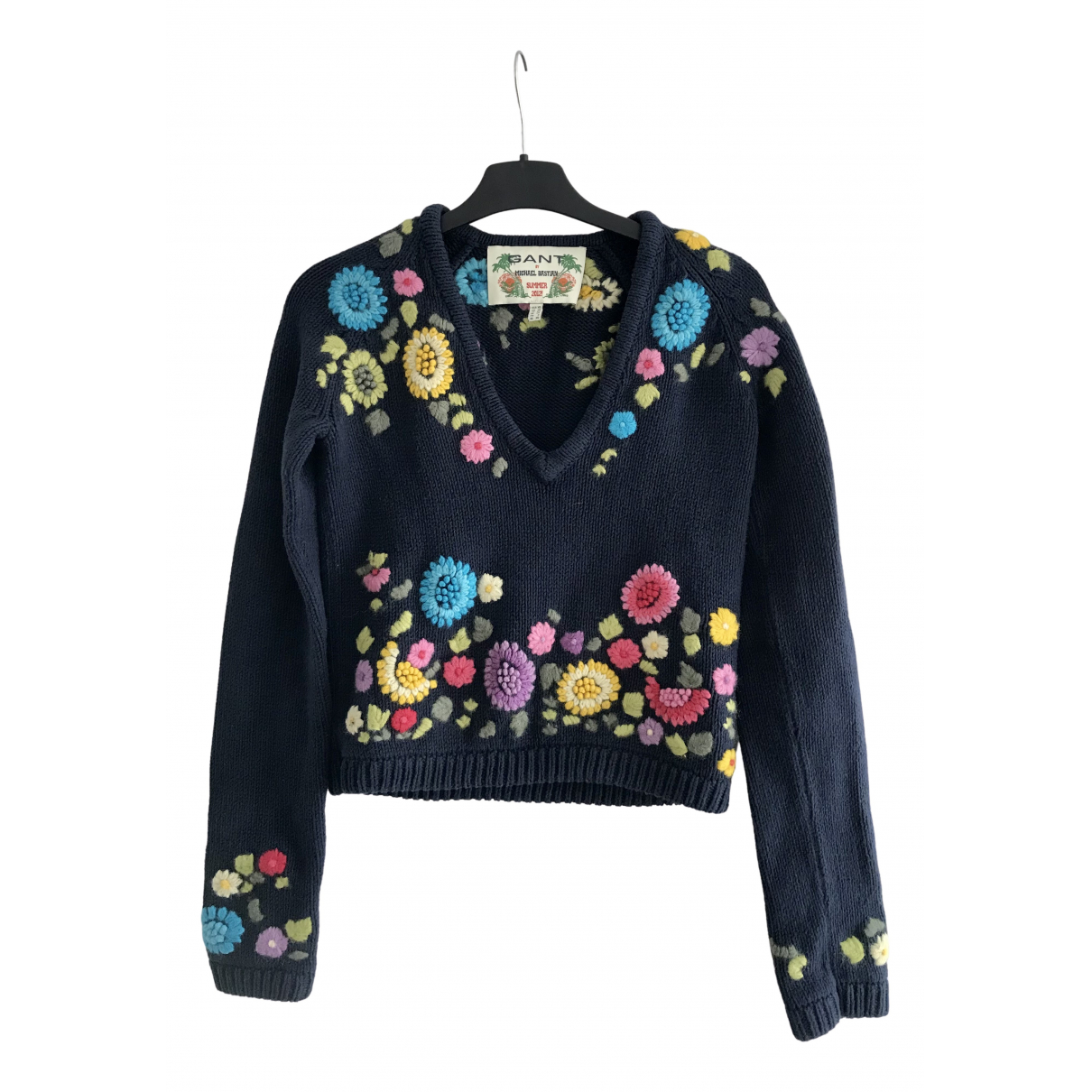 Gant N Blue Cotton Knitwear for Women XS International