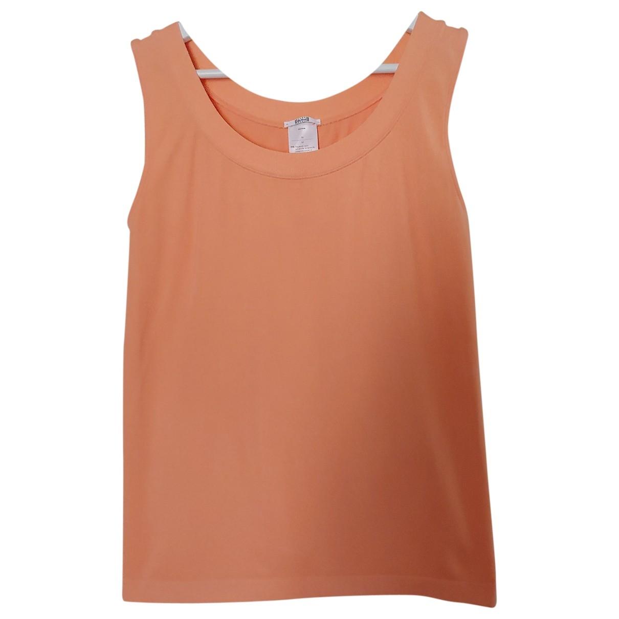 Wolford \N Top in  Orange Baumwolle
