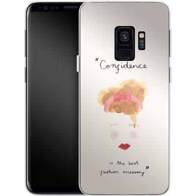 Samsung Galaxy S9 Silikon Handyhuelle - Confidence von caseable Designs