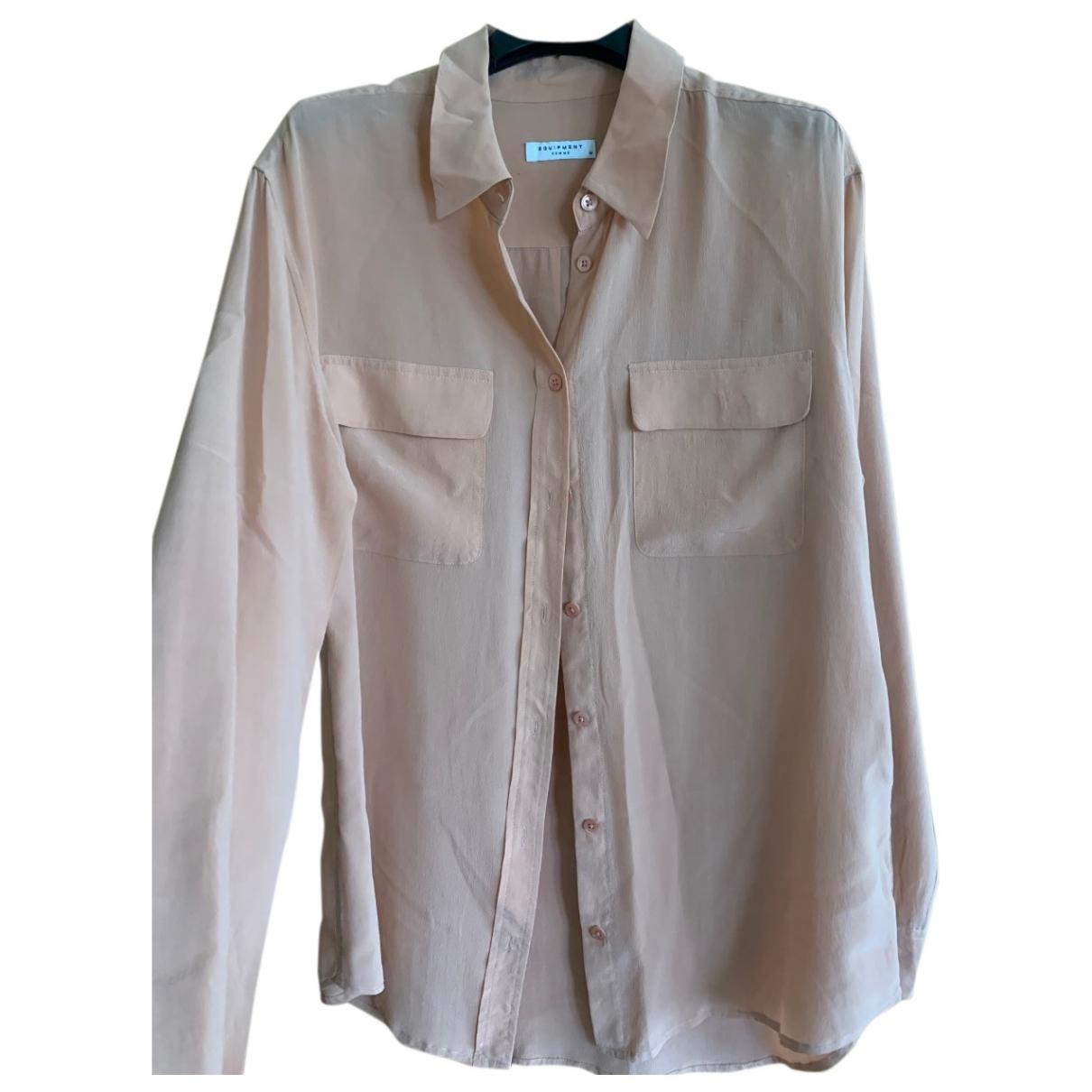 Equipment \N Pink Silk  top for Women M International