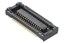 Molex , 51338 0.4mm Pitch 80 Way 2 Row Vertical PCB Socket, Surface Mount, Solder Termination (625)
