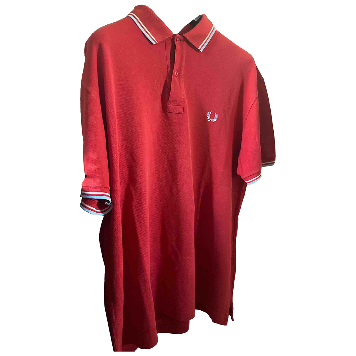 Fred Perry - Polos   pour homme en coton - rouge