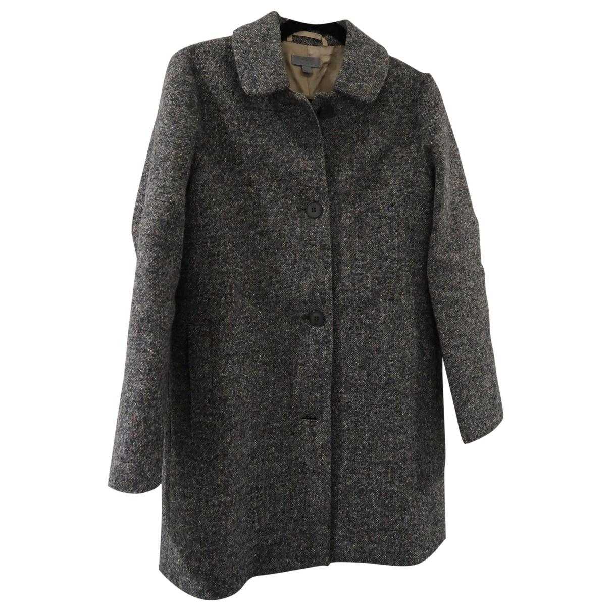 Cos \N Grey Wool coat for Women 34 FR