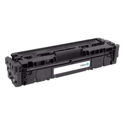 Compatible HP 201A CF401A Cyan Toner Cartridge - Economical Box