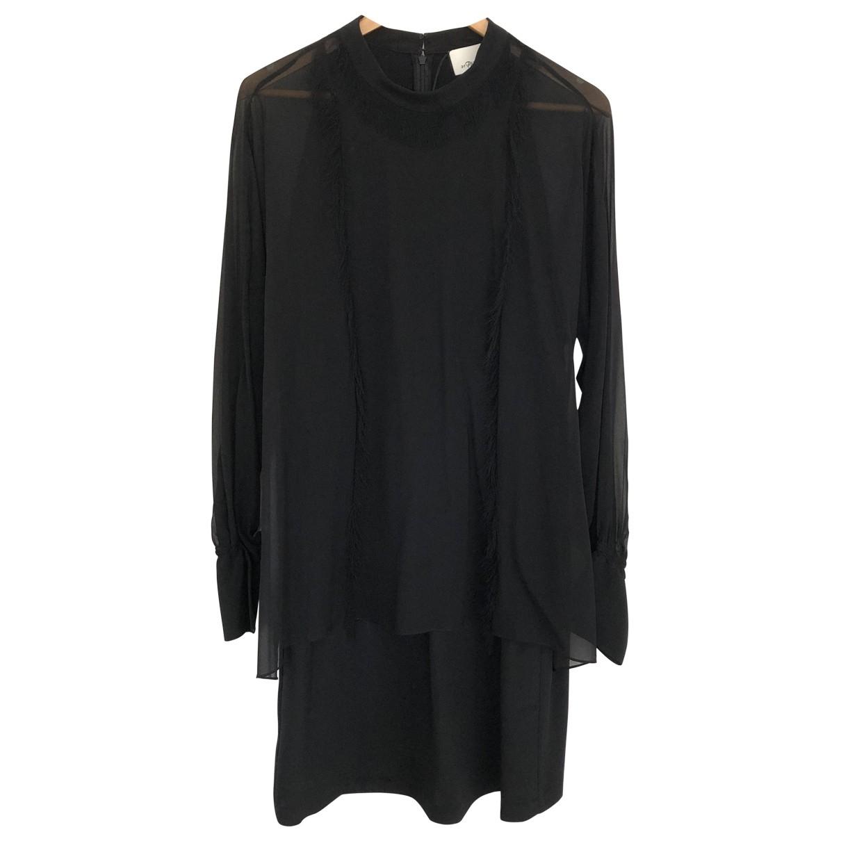 3.1 Phillip Lim - Robe   pour femme en soie - noir