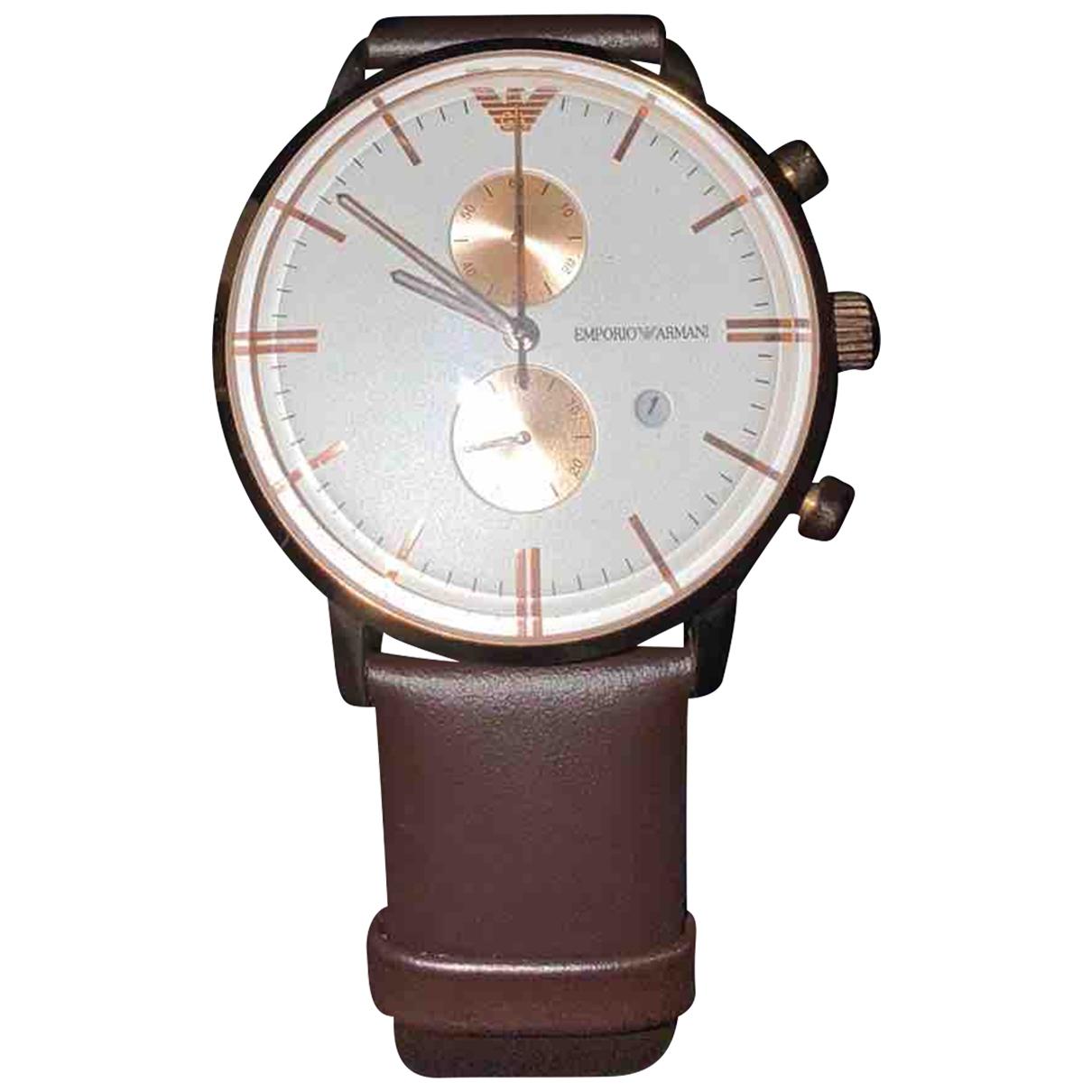 Armani Collezioni \N Silver Steel watch for Men \N