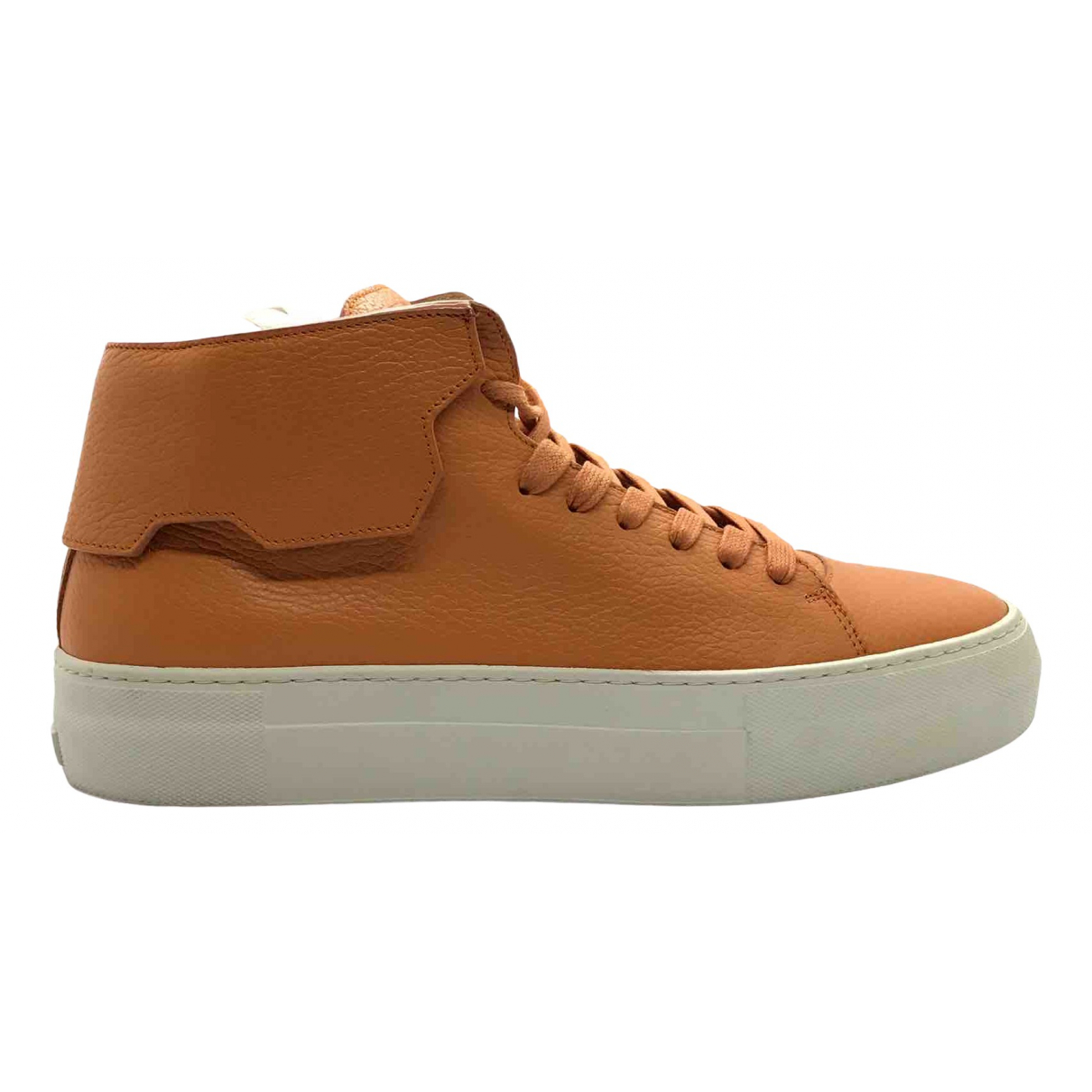 Buscemi \N Sneakers in  Orange Leder