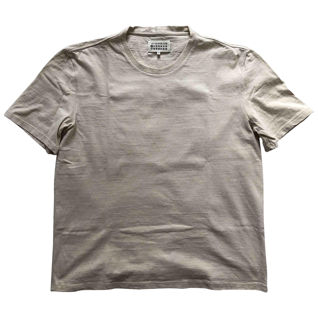 Maison Martin Margiela \N Beige Cotton T-shirts for Men M International
