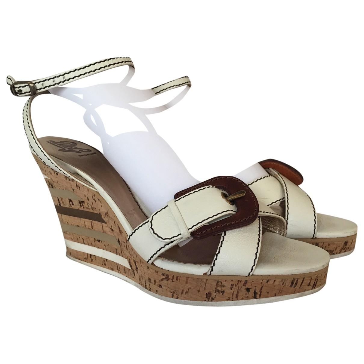 Sandalias romanas de Cuero D&g