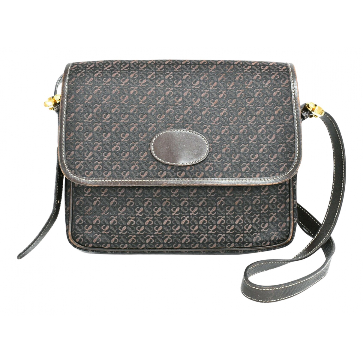 Loewe N Grey Cloth handbag for Women N