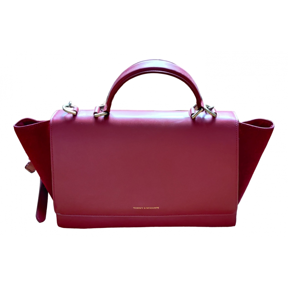 Tammy And Benjamin \N Red Leather handbag for Women \N