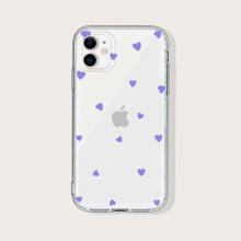 iPhone Huelle mit Herzen Muster