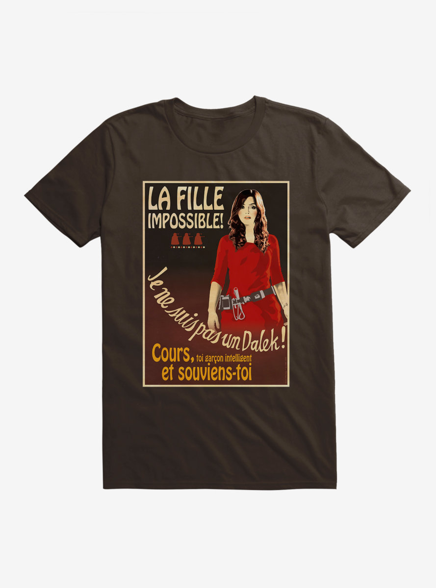 Doctor Who La Fille Impossible T-Shirt