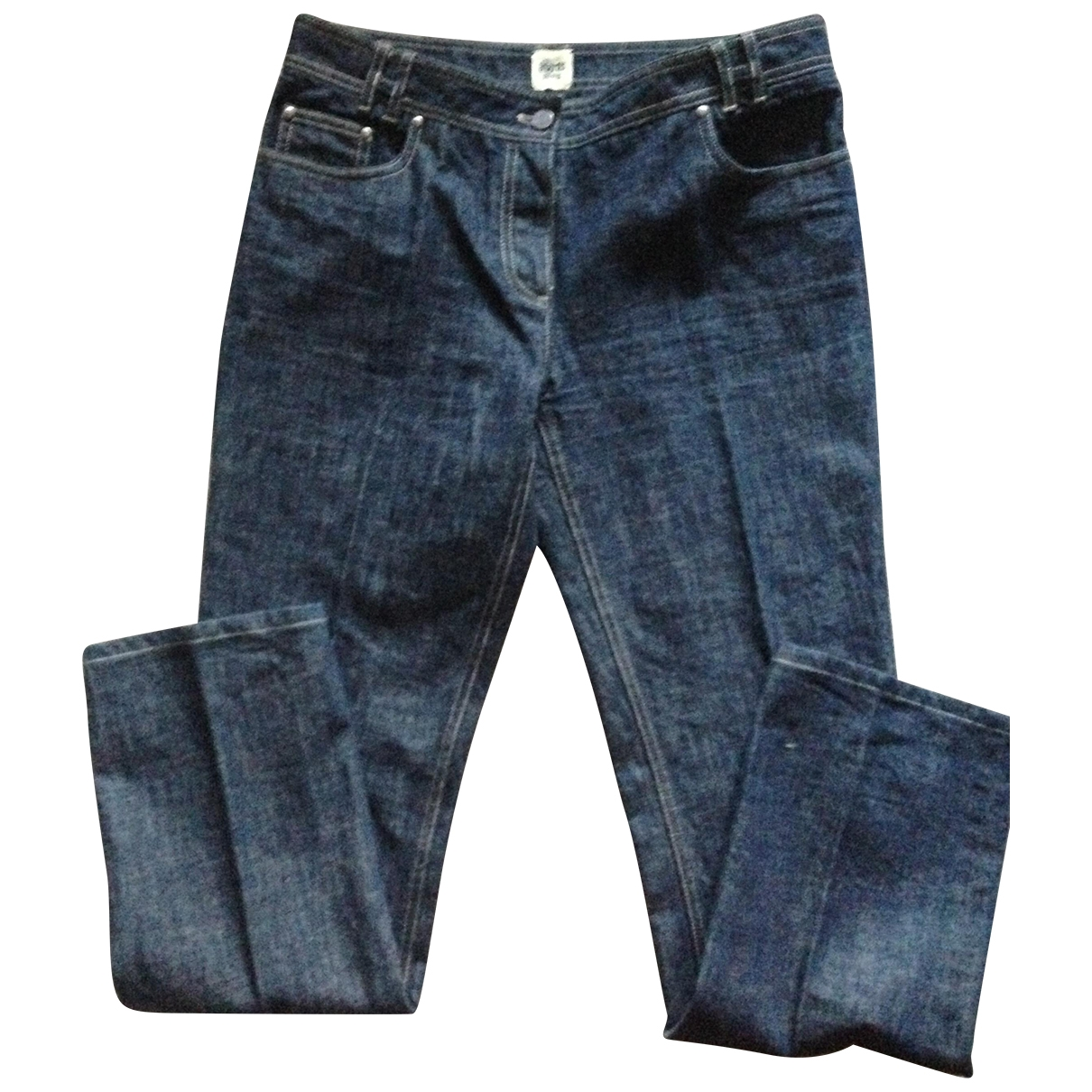 Hermès \N Blue Denim - Jeans Jeans for Women 42 FR