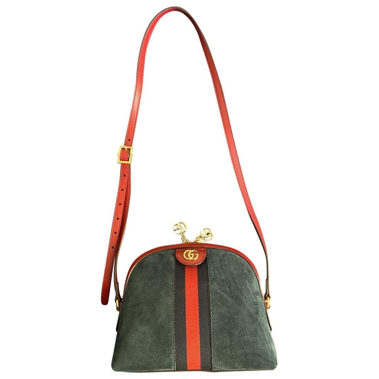 Gucci Ophidia Blue Suede handbag for Women \N