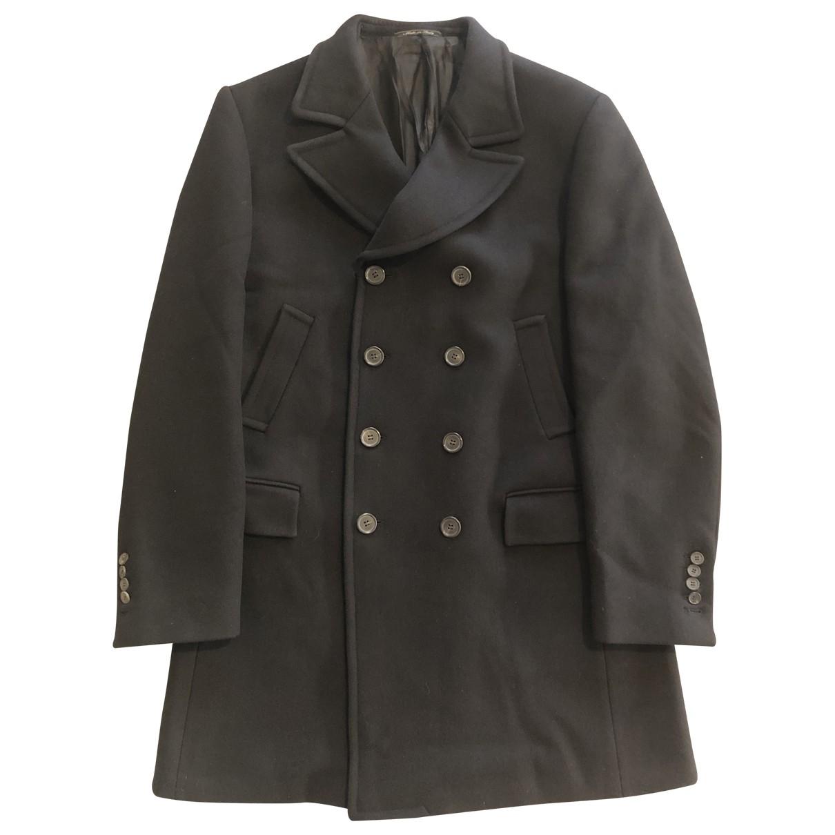 Gucci - Manteau   pour homme en laine - noir