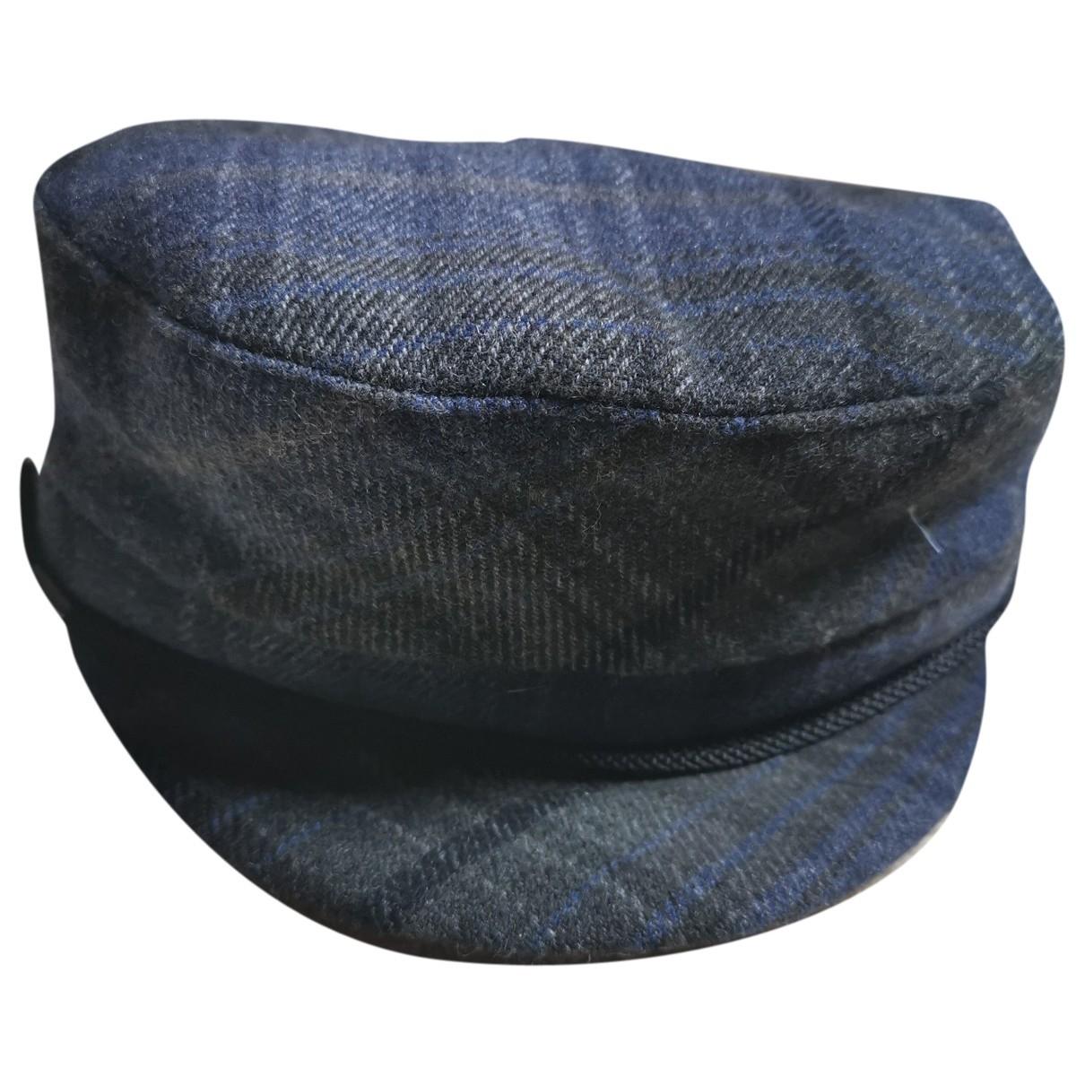 Sandro \N Blue Wool hat for Women 56 cm