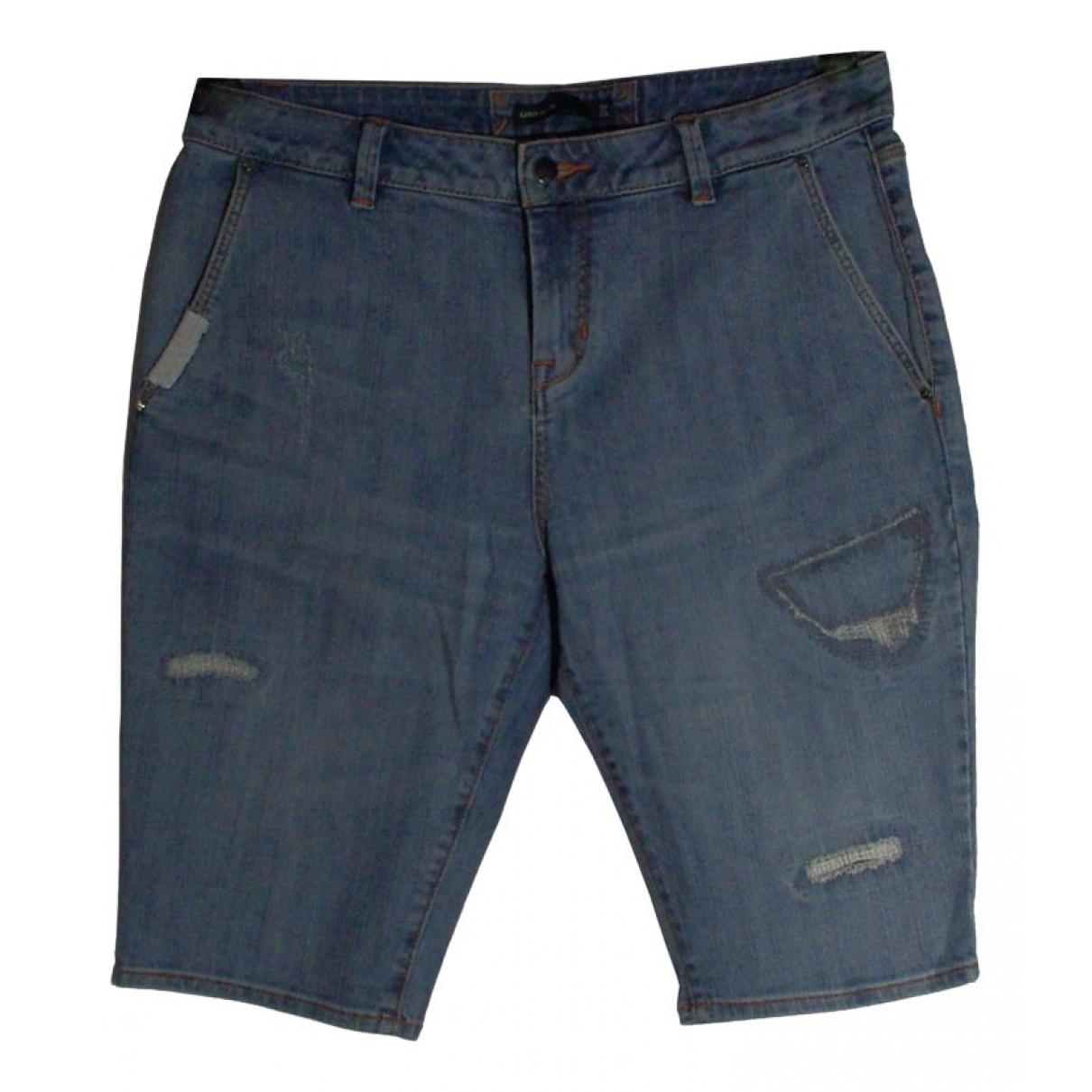 Karen Millen \N Shorts in Baumwolle - Elasthan