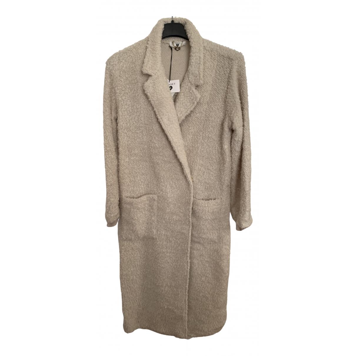 Twin Set N Beige coat for Women XS International