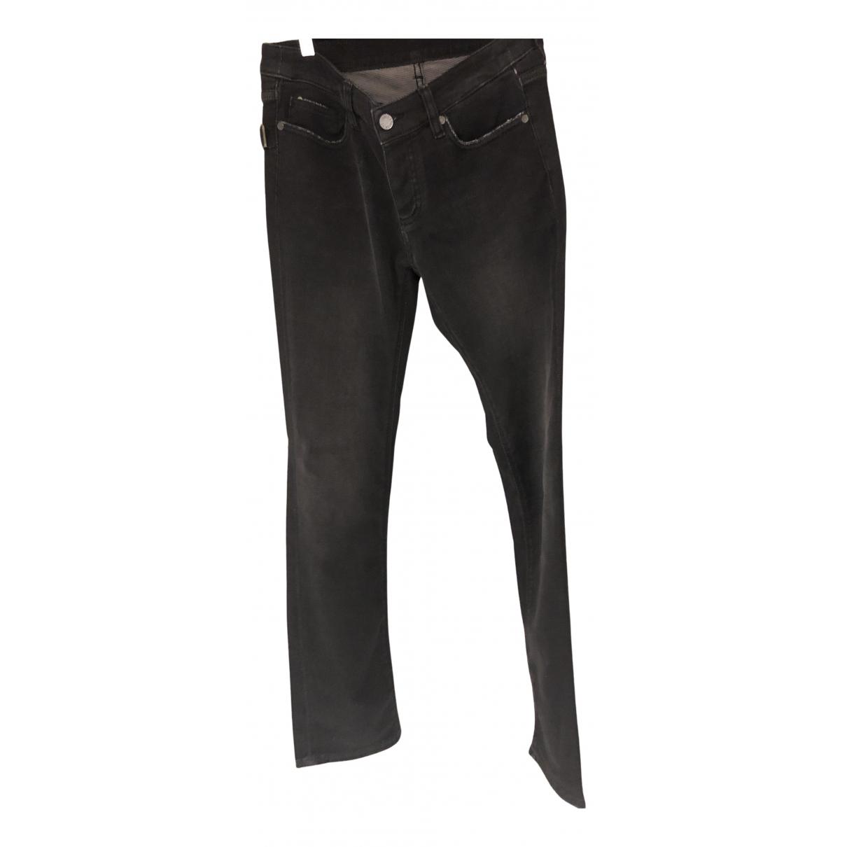 Pantalon en Algodon Negro Zadig & Voltaire