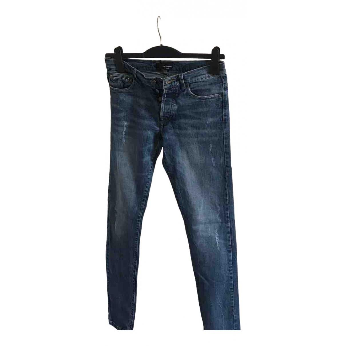 The Kooples Spring Summer 2019 Blue Cotton Jeans for Men 27 US