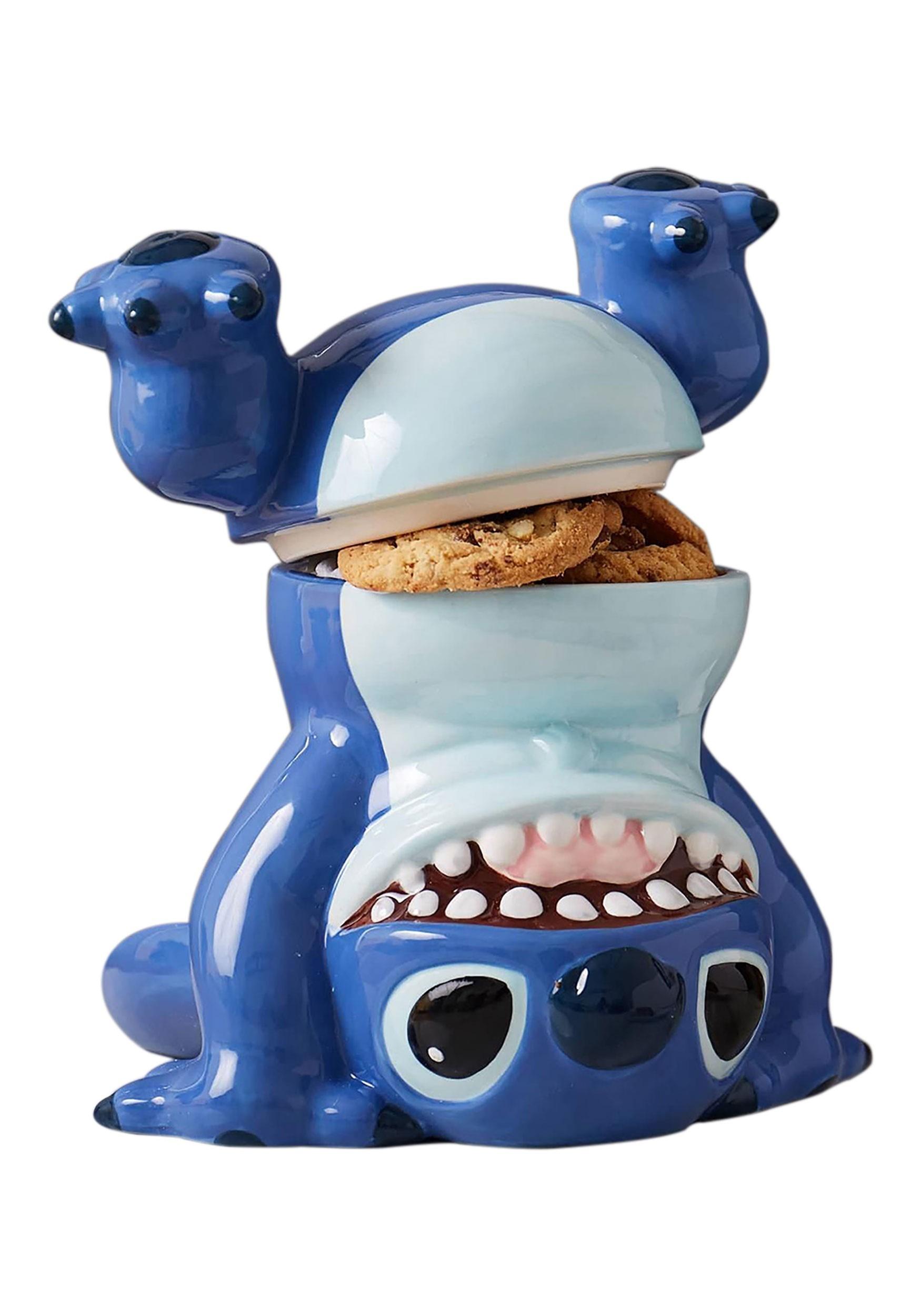 Handstand Stitch Cookie Jar