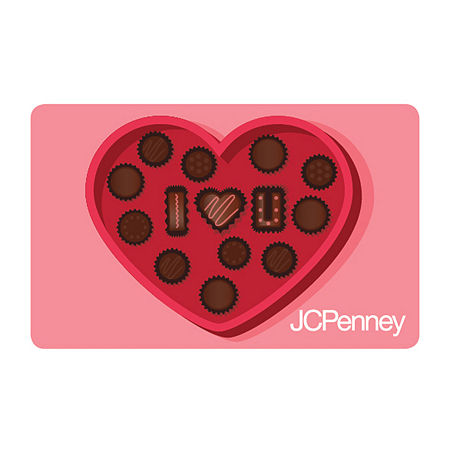 Heart Cookies Gift Card, One Size , No Color Family