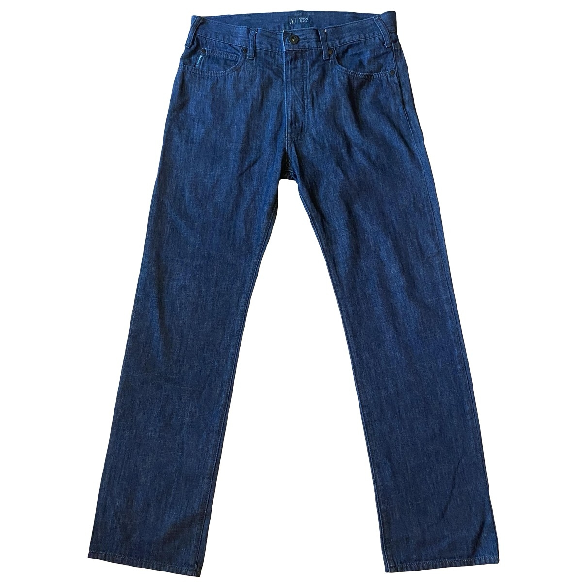 Armani Jean - Jean   pour homme en coton - bleu